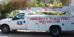 Priority Electric Malibu Pacific Palisades Truck